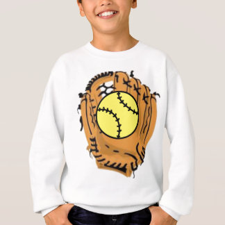 Softball-Fänger Sweatshirt