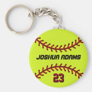 Softball Keychain für Sport-Fans und Athleten Schlüsselanhänger