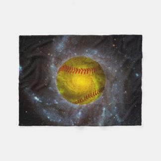 Softball Raumin der einzigartigen Fleecedecke