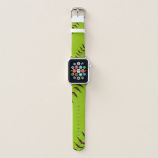 Softballapfeluhr-Handgelenkband Apple Watch Armband
