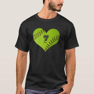 Softballherz-Shirt T-Shirt