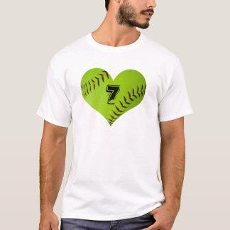 Softballherz-T - Shirt