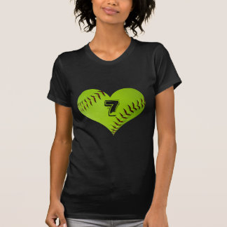 Softballherz T - Shirt