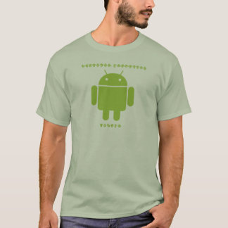 Software-Entwickler-Innere (Wanze Droid T-Shirt