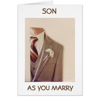 ** SOHN ** AUF IHREM WEDDING DAY=NEW ABENTEUER KARTE