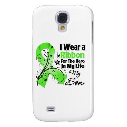 Sohn-Held in meinem Leben-Lymphom-Band Galaxy S4 Hülle
