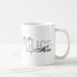 Sohn ist mein Held - POLIZEI Kaffeetasse