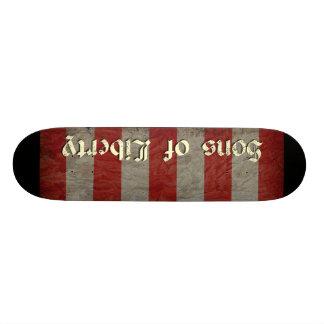 Söhne der Freiheits-Flagge Individuelle Skateboards