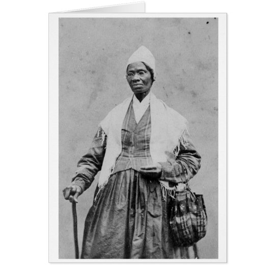 Sojourner-Wahrheit Notecard Karte