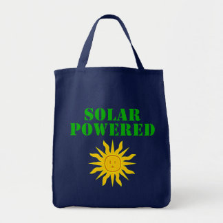Solar angetrieben tragetasche