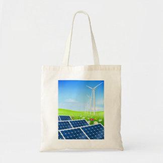Solar- und Wind-Power-Taschen-Tasche Tragetasche