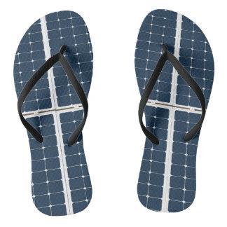 Solarbatteriefeld Flip Flops