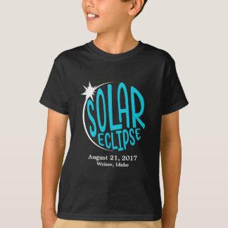 Solareklipse-Kinder - fertigen Sie mit eigener T-Shirt