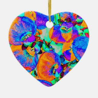 SolarPflanze Keramik Herz-Ornament