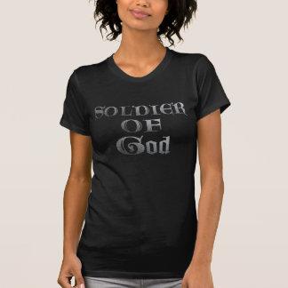 Soldat de Dieu Métal T-shirts