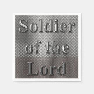 Soldat des Lords Papierserviette
