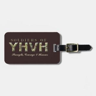 SOLDATEN VON YHVH christlich Kofferanhänger