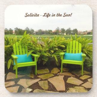 Solivita Kissimmee Florida - Leben im Sun! Getränkeuntersetzer
