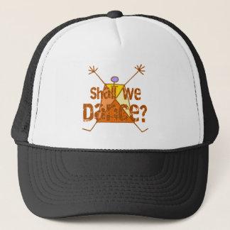 Sollen wir tanzen Hut Truckerkappe