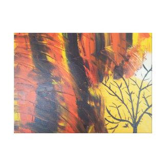 Solo- Baum Leinwanddruck