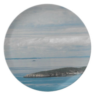 Solo- Schwester-Insel Melaminteller