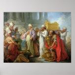 Solomon avant l'arche de l'engagement, 1747 posters