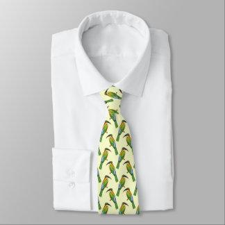 Somalischer Biene-Esser Vintages Kunst-Muster Krawatte
