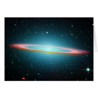 Sombrero-Spiralarm NGC 4594 Grußkarte