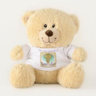 Sommelier-Symbol Teddybär