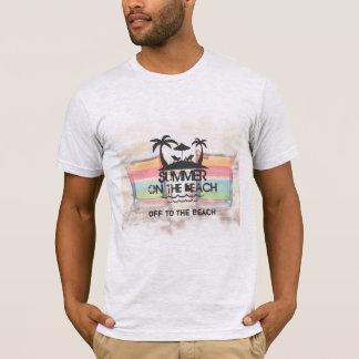 Sommer auf dem Strand | personalisiert T-Shirt