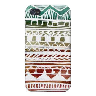 Sommer-Azteke-Muster Hülle Fürs iPhone 4