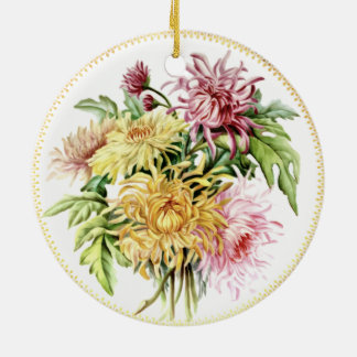 Sommer-Dahlie-Verzierung Keramik Ornament