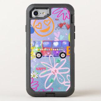 Sommer der Liebe - der 60er OtterBox Defender iPhone 8/7 Hülle