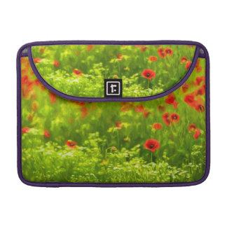 Sommer-Gefühle - wunderbare Mohnblumen-Blumen I Sleeve Für MacBook Pro