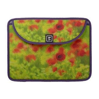 Sommer-Gefühle - wunderbare Mohnblumen-Blumen III MacBook Pro Sleeve
