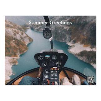 Sommer-Gruß-Karte Postkarte