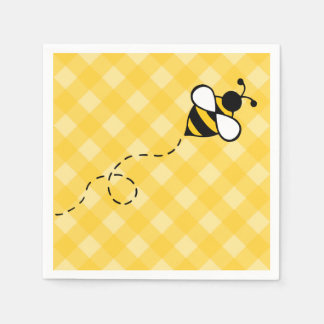 Sommer-Honig-Bienen-Party-Picknick-Servietten Papierservietten