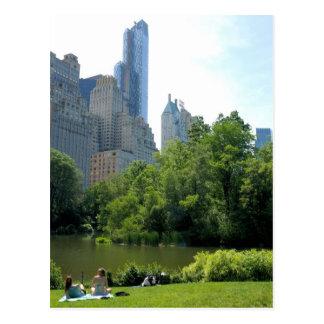 Sommer in Central Park-… New- York Citypostkarte Postkarte
