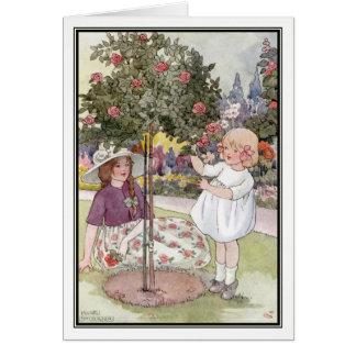 Sommer-Rosen durch Anne Anderson Karte