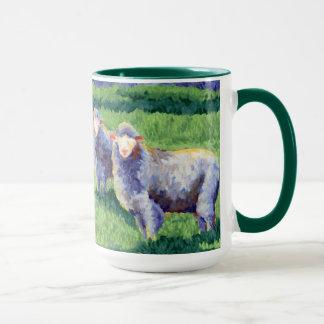 Sommer-Schafe Tasse