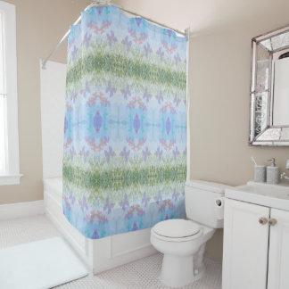 Sommer-Schmetterlings-Duschvorhang Duschvorhang