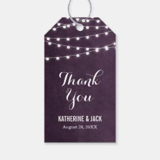 Sommer-Schnur-Lichter danken Ihnen, Umbauten zu Geschenkanhänger