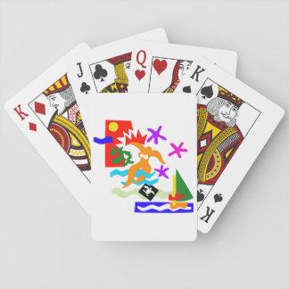 Sommer-Schwimmer - Spielkarten