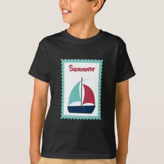Sommer-Segeln-Segel-Boots-Segelboot T-Shirt