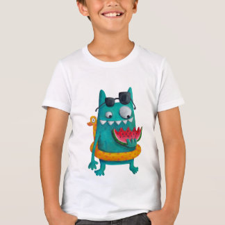 Sommer-Strand-Monster T-Shirt