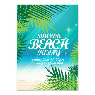 Sommer-Strand-Party Einladung Karte