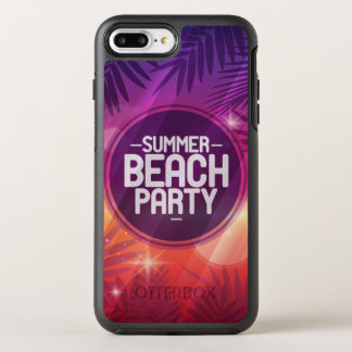 Sommer-Strand-Party-Nacht OtterBox Symmetry iPhone 8 Plus/7 Plus Hülle