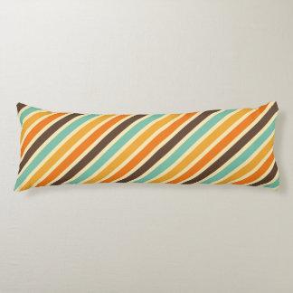 Sommer-Wärme Stripes Muster Seitenschläferkissen