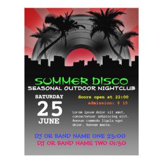 Sommerdisco-Flyer