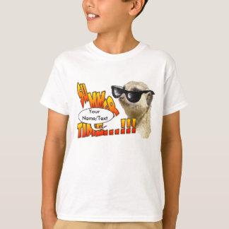 Sommerzeit Meerkat kundengerechter KinderT - Shirt